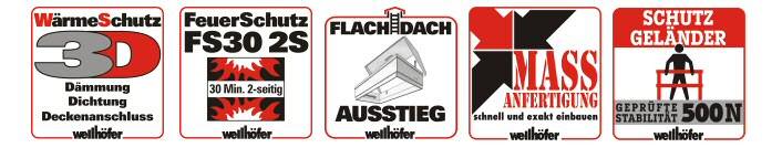 Preiswerte Aluminium-Scherentreppe von Holzland Seibert