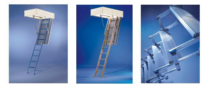 Preiswerte Bodentreppen, Raumspartreppen und Treppenstufen von Holzland Seibert