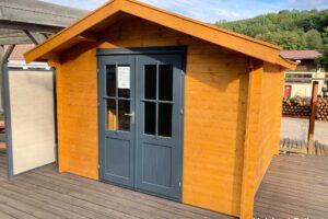 Gartenhaus 28 mm 300x300 cm zuluna